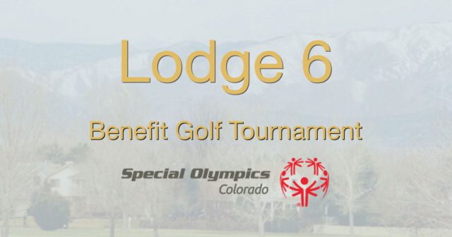 Longmont FOP Benefit Golf Tournament